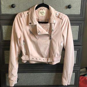Faux Suede Pink Jacket